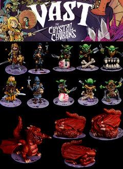 Vast The Crystal Caverns Minis