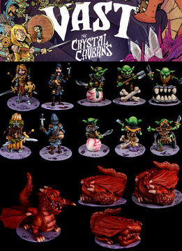 Vast The Crystal Caverns Minis