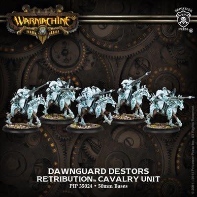 Retribution Dawnguard Destors Cavalry Unit Box