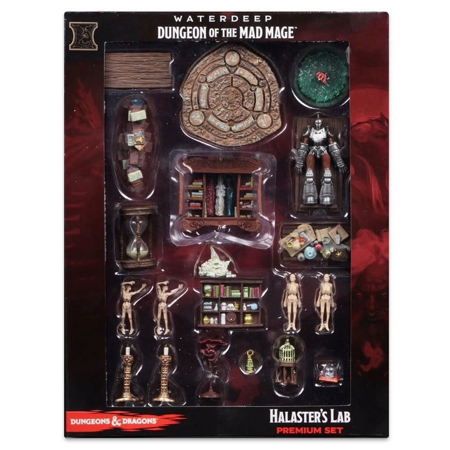 D&D Icons of the Realm - Dungeon of the Mad Mage Halaster's Lab Case Incentive