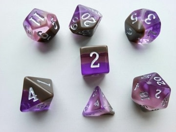 LD Birthday Dice February Amethyst