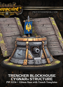 Cygnar Trencher Blockhouse Structure Box