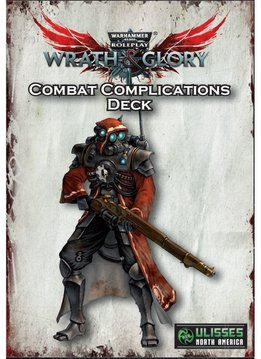 Warhammer 40k Wrath & Glory Combat Complications Deck