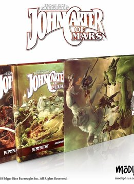 John Carter of Mars Collector's Slipcase 2 Books