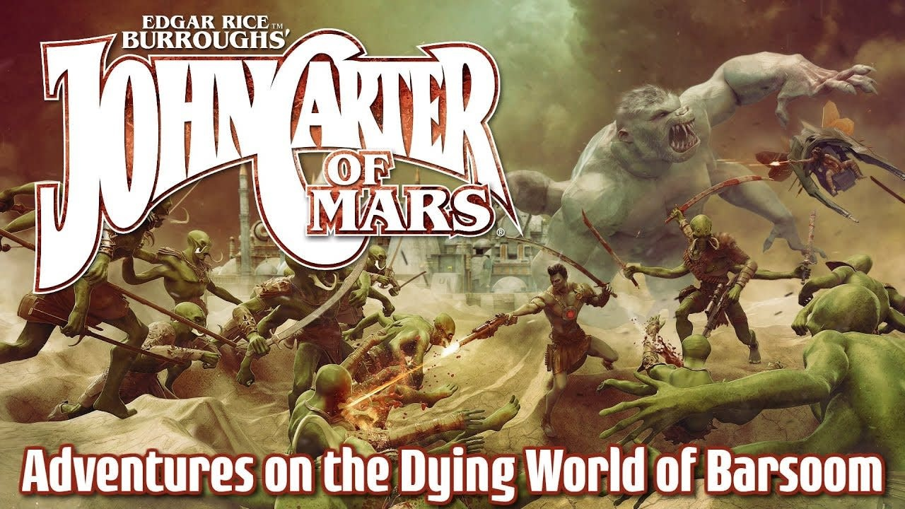 John Carter of Mars - Adventures on the Dying World of Barsoom