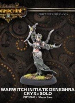 Cryx - Warwitch Initiate Deneghra Warcaster