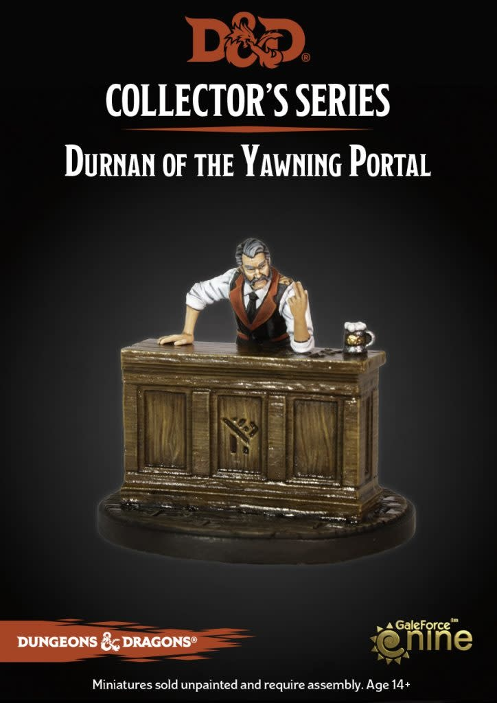 Durnan of the Yawning Portal Miniature