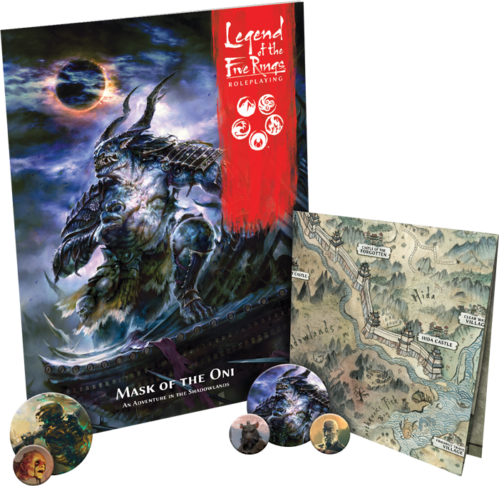 Legend of the Five Rings RPG - Mask of the Oni