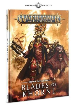 Battletome - Blades of Khorne 2019 FR