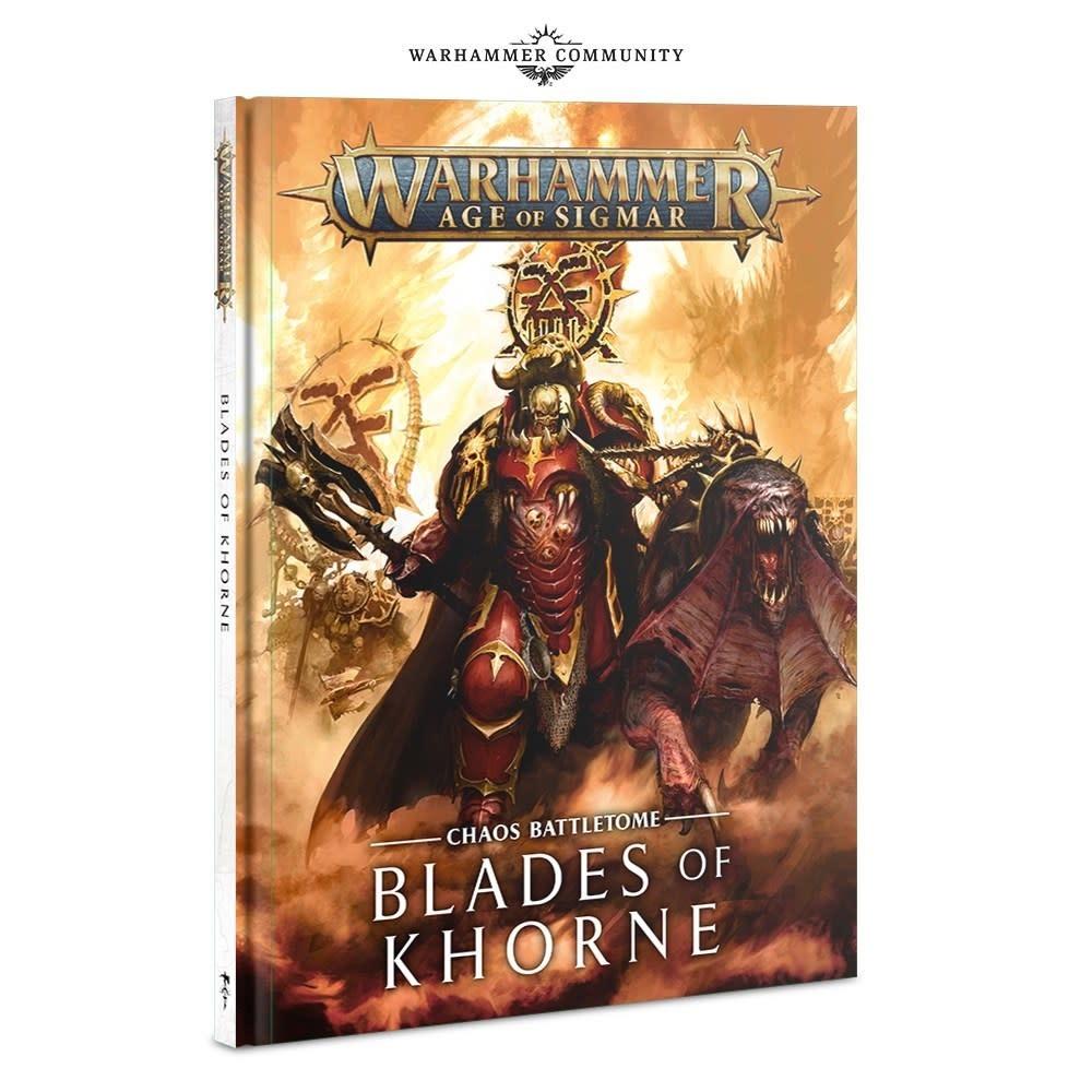 Battletome - Blades of Khorne 2019 FR