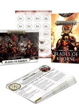 Blades of Khorne Warscroll Cards 2019 FR