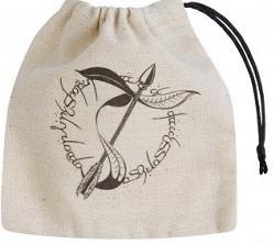 Dice Bag - Elvish Beige/Black Basic