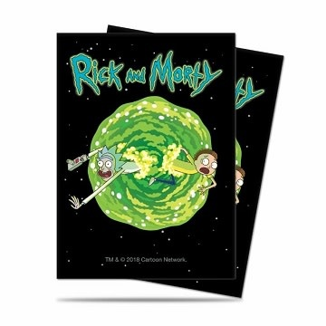 Rick and Morty Sleeves - Portal 65ct