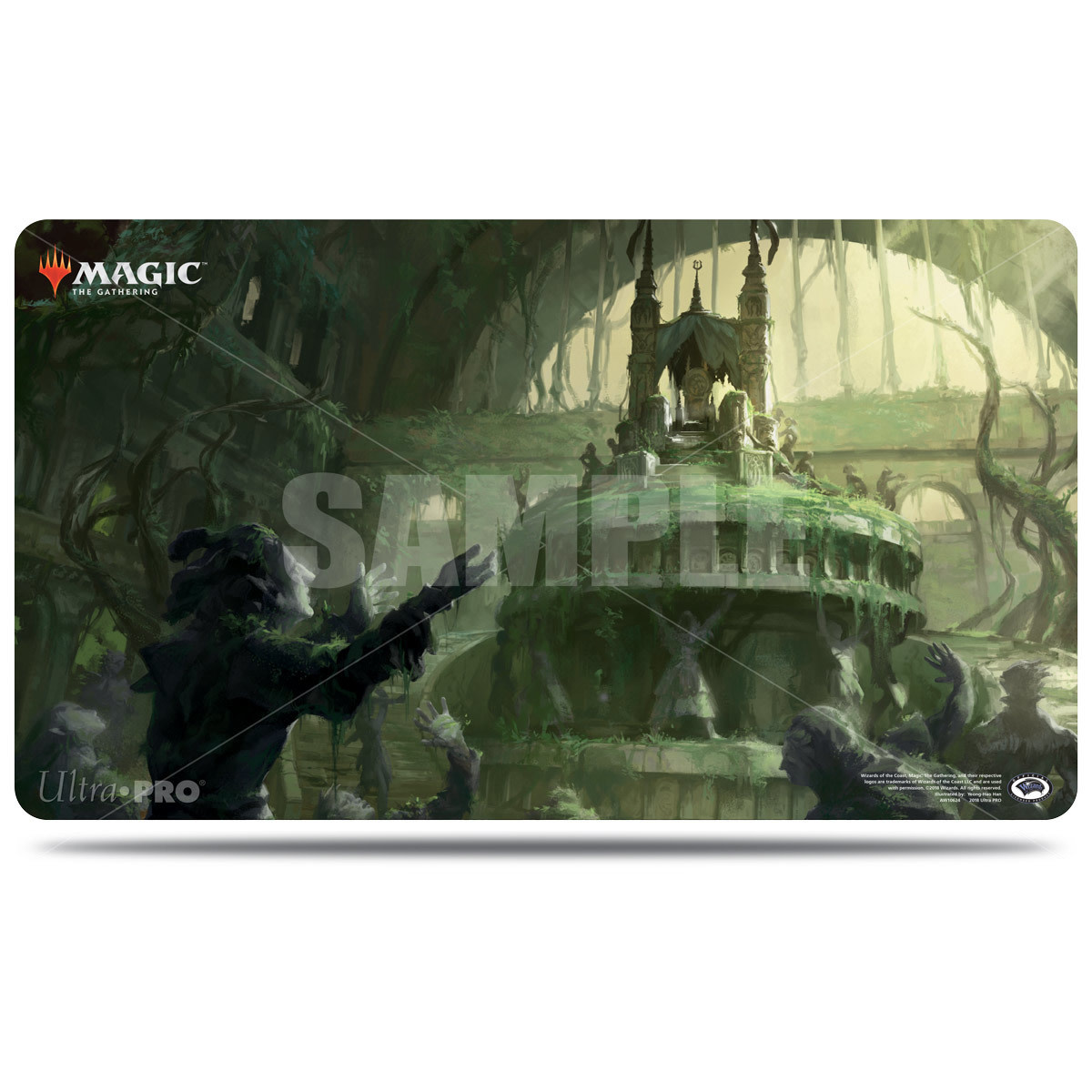 Guilds of Ravnica Playmat - Overgrown Tomb