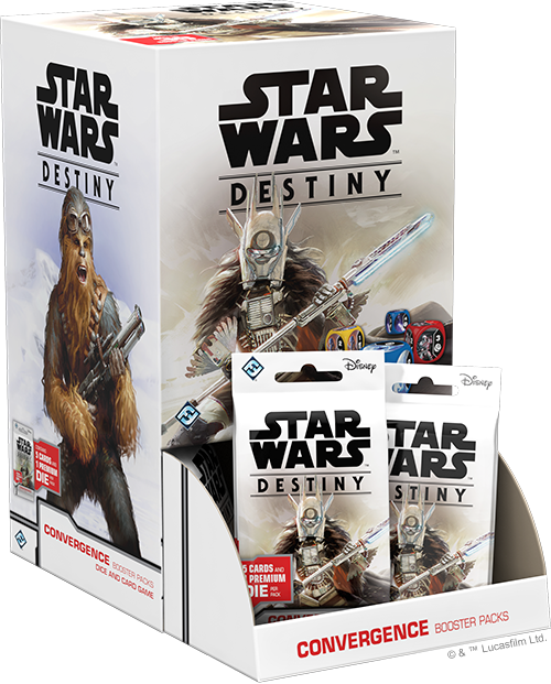 Starwars Destiny Convergence Booster Box