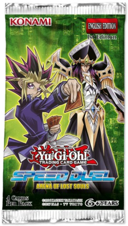 YGO Arena of Lost Souls Booster Pack