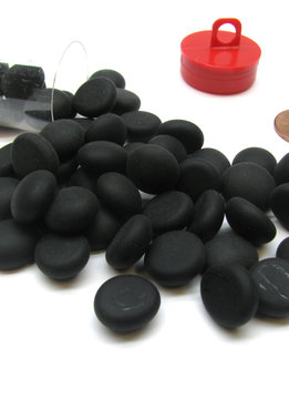 Stones - Opal Black Frosted