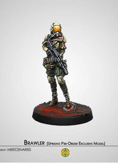 Infinity: Brawler Mercenary Enforcers