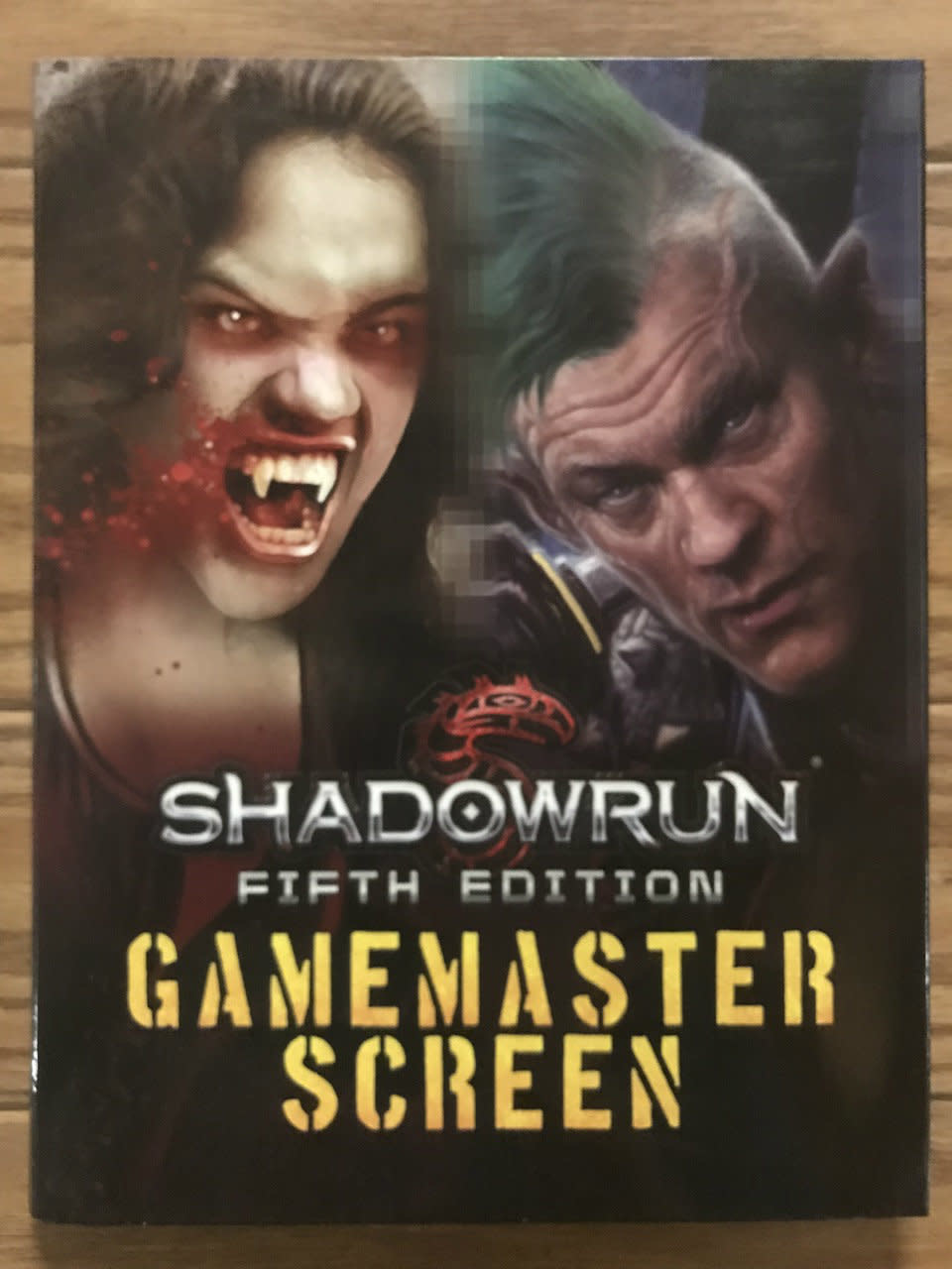 Gamemaster Screen Shadowrun 5th Ed
