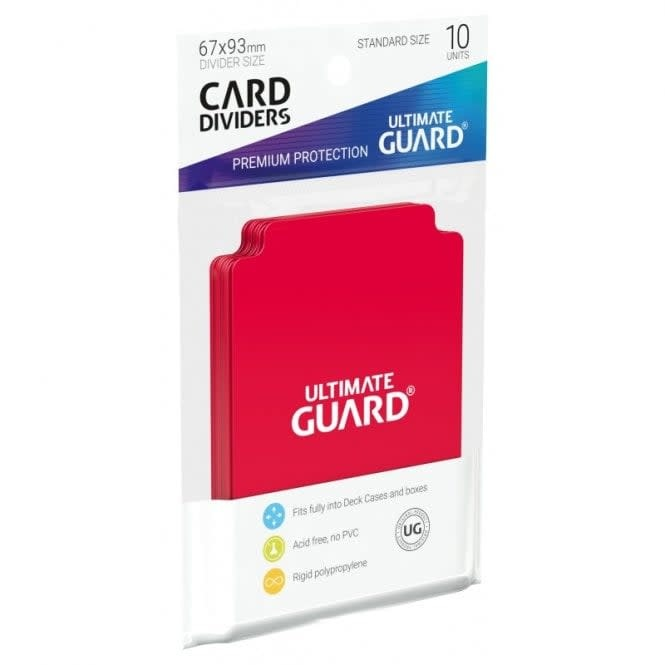 Card Divider Red