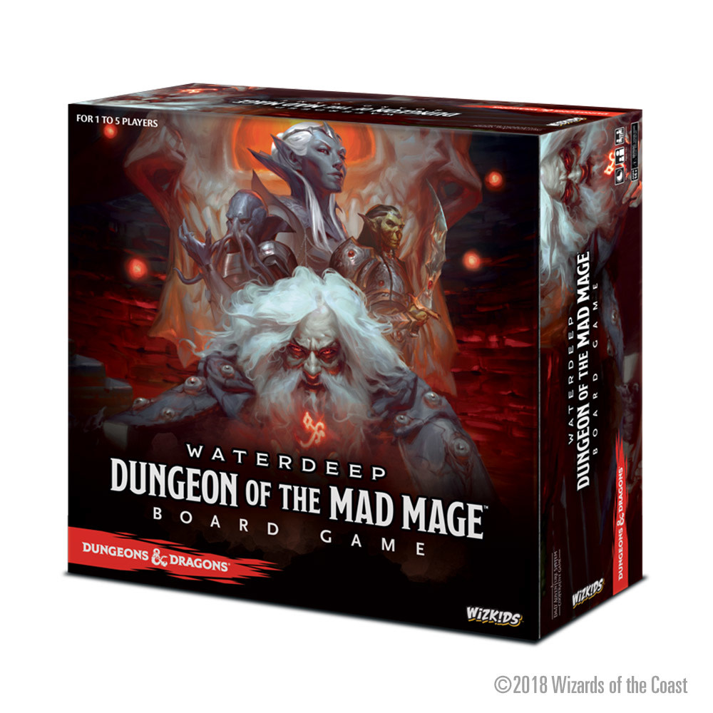 D&D Dungeon of the Mad Mage Board Game