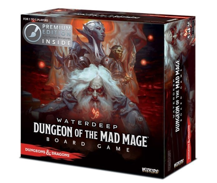 D&D Dungeon of the Mad Mage Board Game Premium