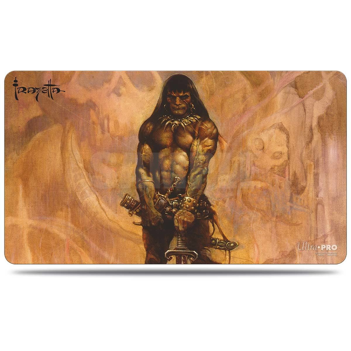 Frank Frazetta Barbarian Playmat