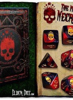 Elder Dice Set - Mark of the Necronomicon
