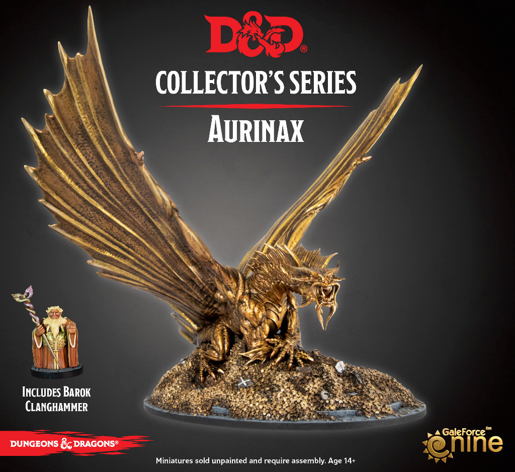 D&D Waterdeep Dragon Heist Aurinax Model