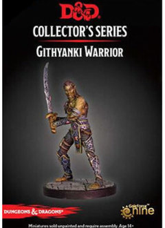 D&D Dungeon of the Mad Mage - Githyanki Warrior