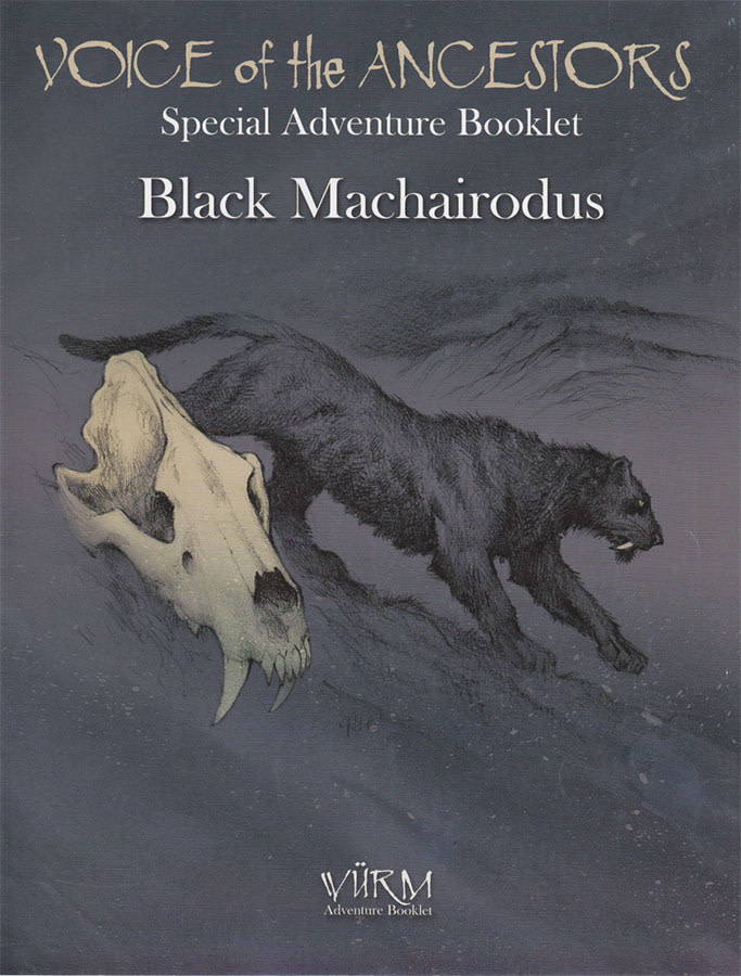 Wurm Voice of Ancestors Black Machairodus