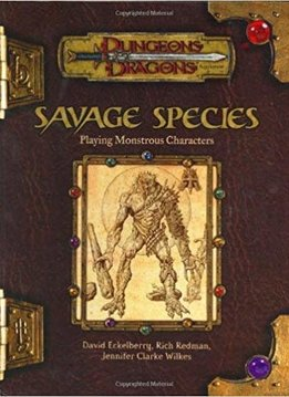 D&D 3.5 Savage Species (Usagé)