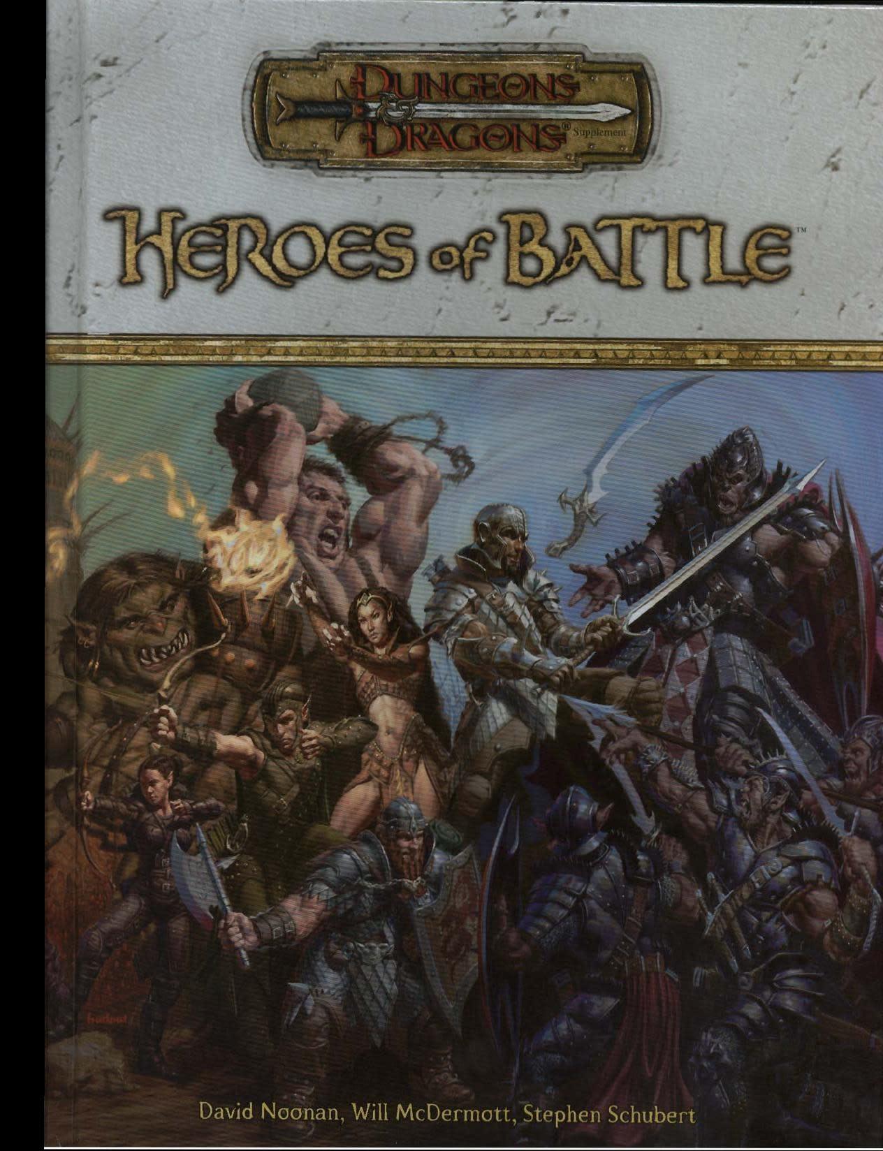 D&D 3.5 Heroes of Battle (Usagé)