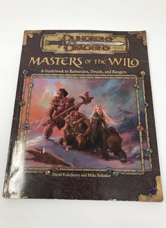 D&D 3.5 Masters of the Wild Guidebook (Usagé)