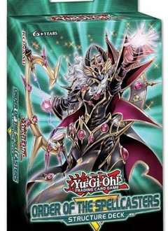 YGO Order of the Spellcasters Structure Deck (18 Avril)