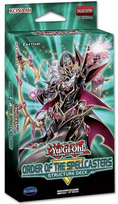 YGO Order of the Spellcasters Structure Deck