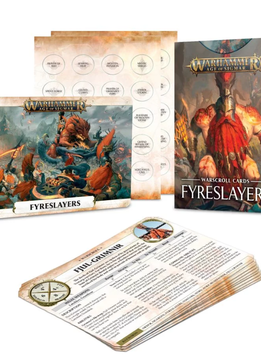 Warscroll Cards: Fyreslayers EN (Sortie le 20 Avril)