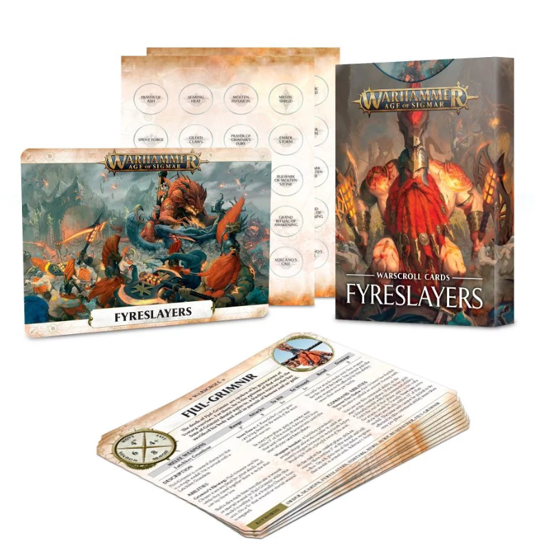 Warscroll Cards: Fyreslayers FR