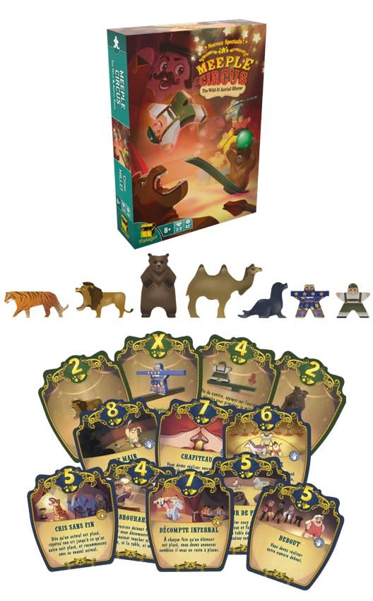 Meeple Circus - Animals Expansion EN