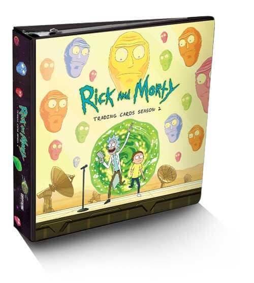 Cryptozoic Rick and Morty Trading Cards Season 2