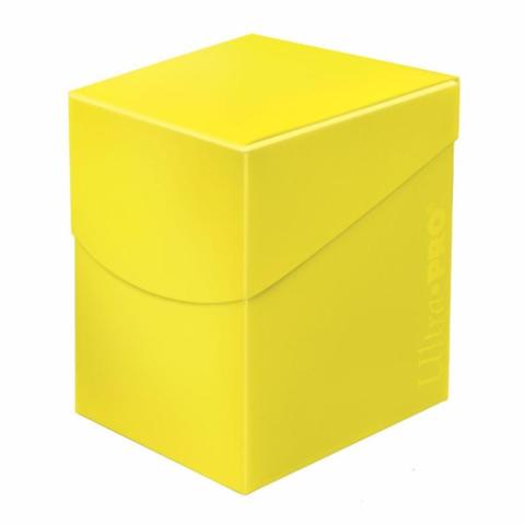 Eclipse Lemon Yellow 100+ Deck Box