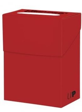 Ultra Pro Deck Box Solid Red