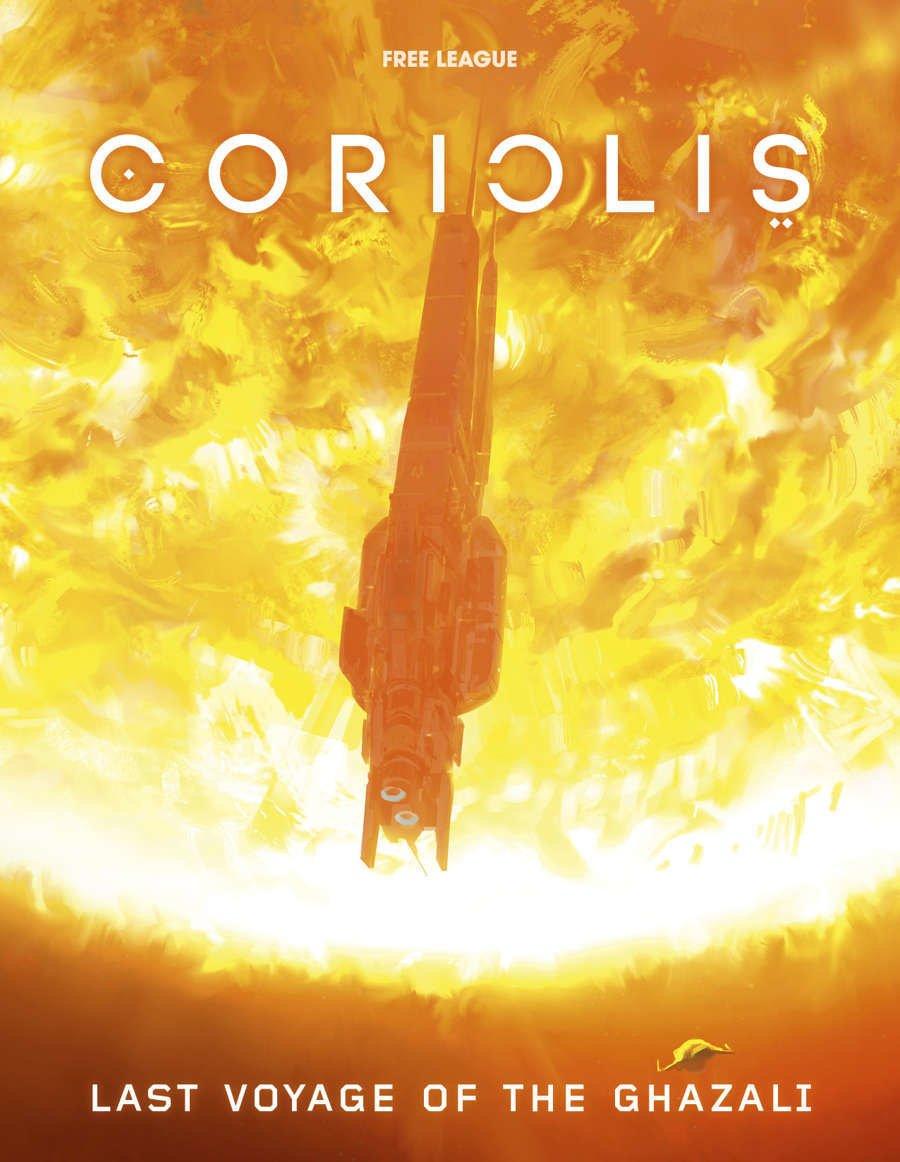 Coriolis RPG Last Voyage of the Ghazali