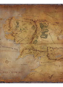 The Lord of the Rings Journeys in Middle-Earth Playmat