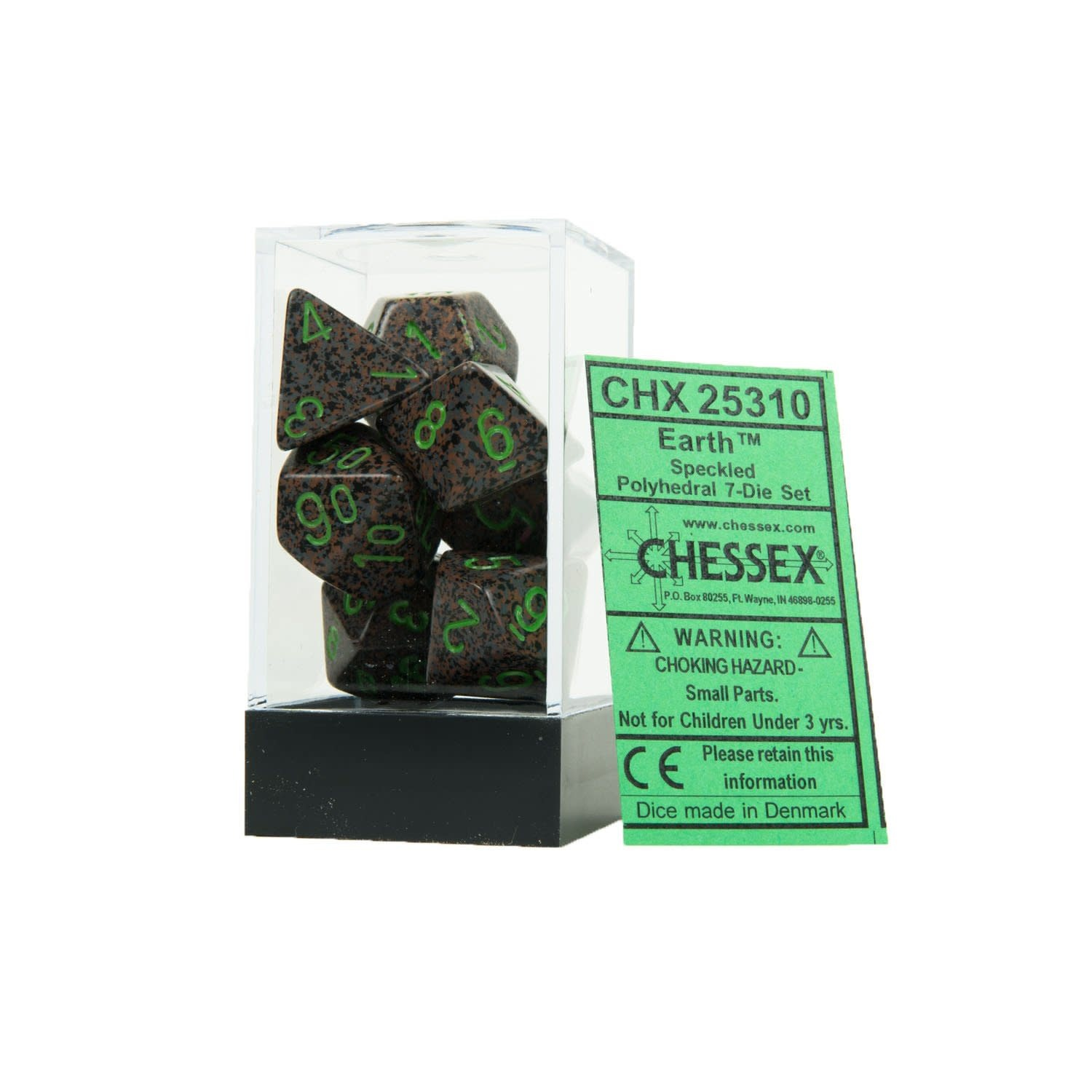 25310 Speckled Earth 7pc Dice Set