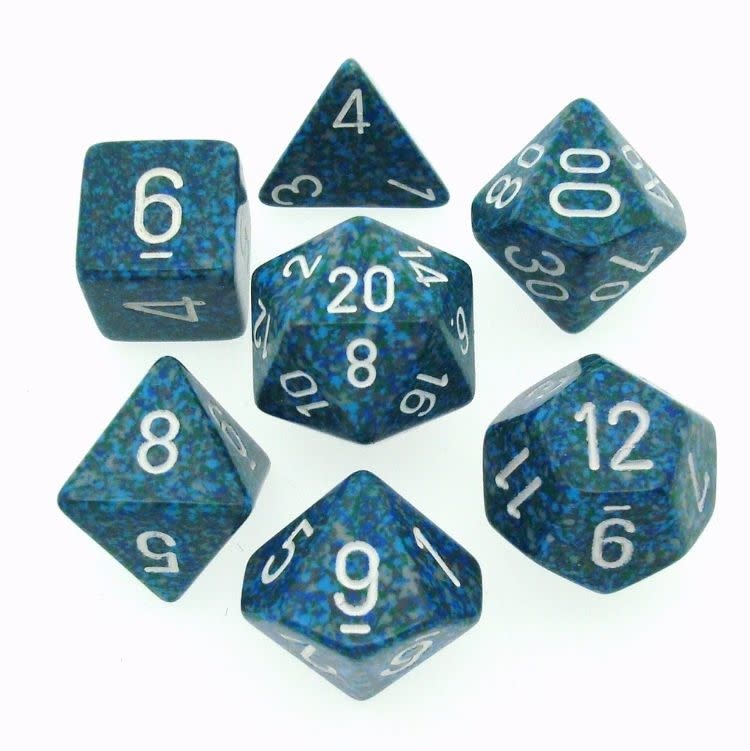 Speckled 7Pc Cube Sea