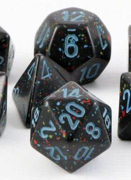 Speckled 7pc Cube Blue Star