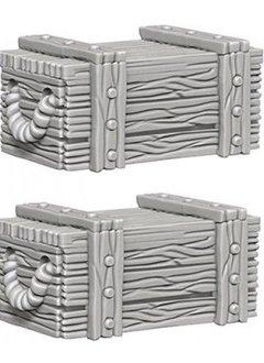 Wizkids Unpainted Minis: Crates