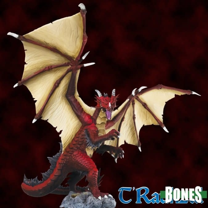 Bones T'Raukzul The Shadow of Death - Great Fire Dragon