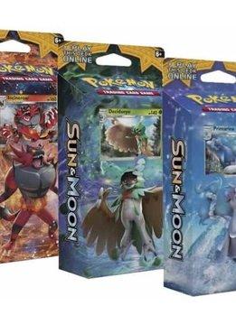 Pokemon Sun & Moon Theme Deck